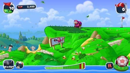 Si nos gusta el golf tenemos varios hoyos pendientes en PSN y Steam con 'Worms Crazy Golf' o 'Everybody's Golf'