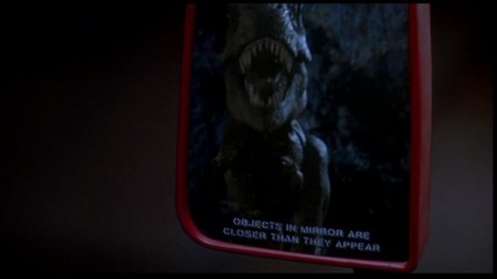 Jurassic World y Jurassic Park, retrovisor