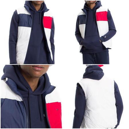 Con este chaleco Tommy Jeans reversible puedes marcarte un look al más puro estilo Marty McFly desde 53,57 euros