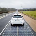 La carretera que produce energía solar mientras recorres el norte de Francia