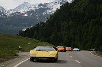 100 Lamborghini juntos en Saint Moritz, !viva el lujo!