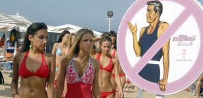 Playa sólo para mujeres en Italia