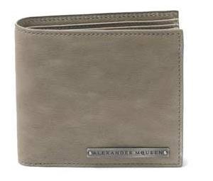 Atractiva línea de billeteras Alexander McQueen