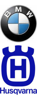 BMW Husqvarna logos