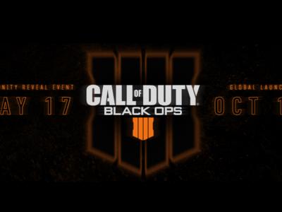 Call of Duty: Black Ops 4 es oficial. Llegará el 12 de octubre y aquí tienes el primer teaser