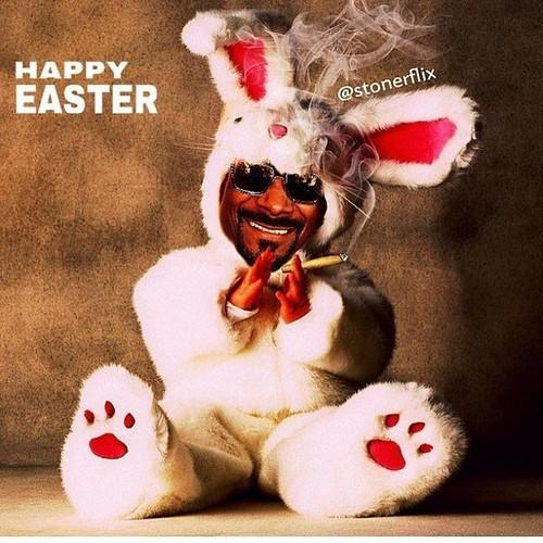 La semana santa de los famosos: entre huevos y conejos
