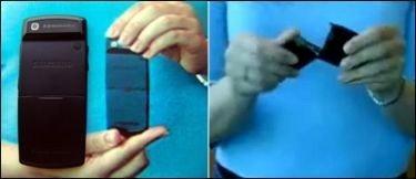 ¿Está Motorola tras el vídeo donde se rompe el Samsung X820?