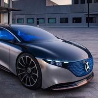 Mercedes Vision EQS: un concepto de automóvil 100% eléctrico y autónomo con doble motor que muestra el futuro de la línea EQ