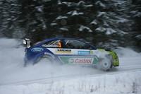 Gronholm primero en Suecia tras la primera etapa