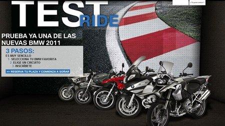 ¿Quién quiere probar una BMW en circuito?, llega el Test Ride 2011