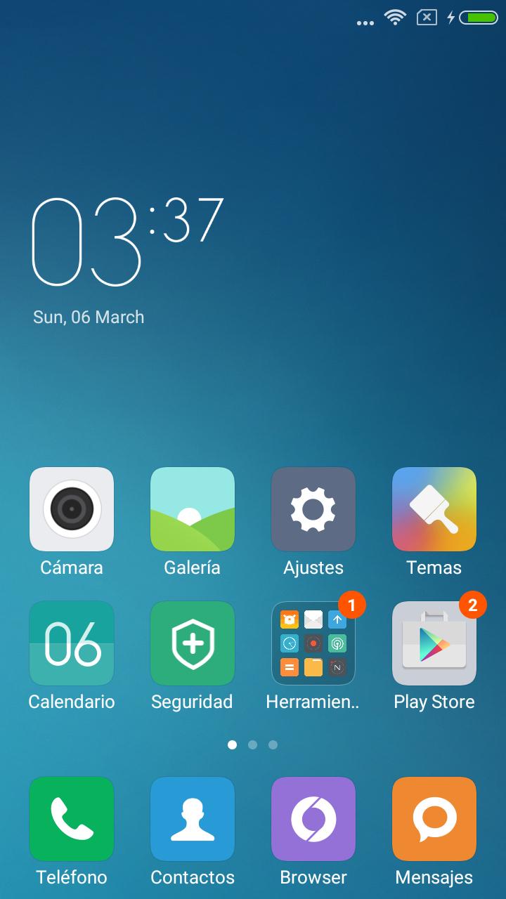 Foto de Xiaomi Redmi 3, Software (1/7)