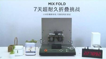 Xiaomi Mi Mix Fold Plegado