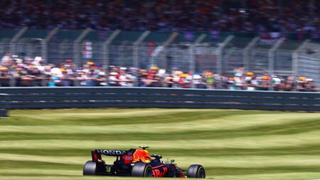 Perez Silverstone F1 2021