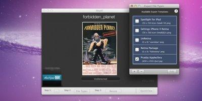 ShipIt!, redimensiona imágenes en OS X utilizando configuraciones predefinidas