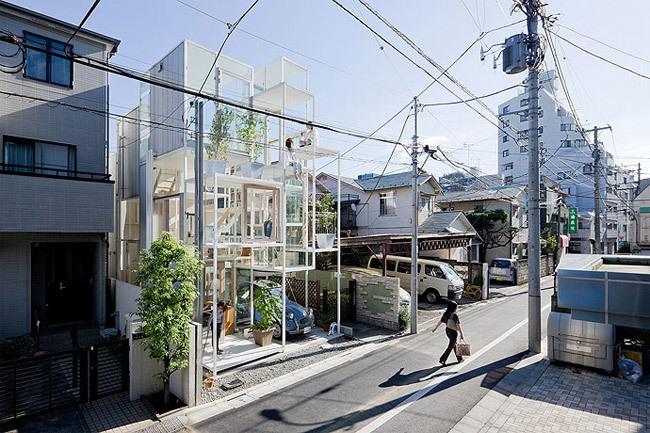 Foto de Casas poco convencionales: una casa completamente transparente (14/14)