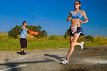 Zonas a entrenar para practicar la carrera