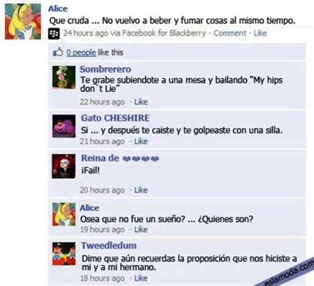 Estados Facebook Disney 2