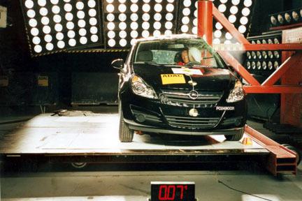 Opel Corsa - EuroNCAP