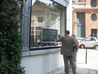 Ubiq Window, pantallas táctiles tras cristales