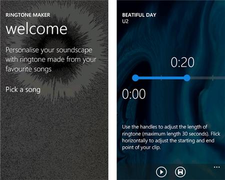Nokia Ringtone Maker, crea fácilmente tonos de aviso personalizados