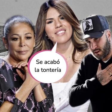 Chabelita da un golpe sobre la mesa: regaña a Kiko Rivera por criticar a Telecinco y vaticina la batalla entre Isabel Pantoja y Teresa Rivera