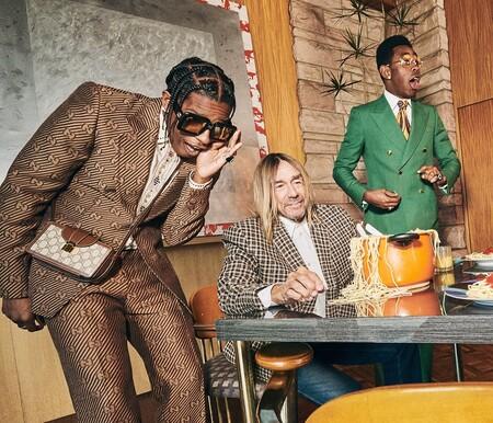Gucci retrata la vida de los rockstars en su nueva campaña de tailoring para el otoño