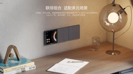 S1 Smart Scene Panel: esta pantalla de Aqara se monta como un interruptor de pared y es compatible con HomeKit de Apple