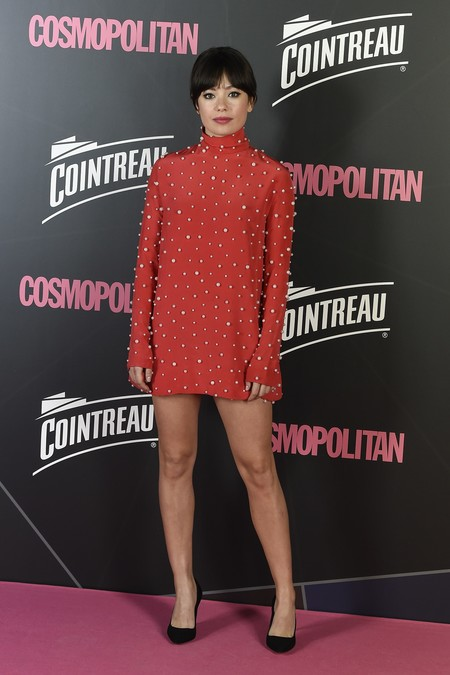 premios cosmopolitan 2017 alfombra roja look estilismo outfit Anna Castillo