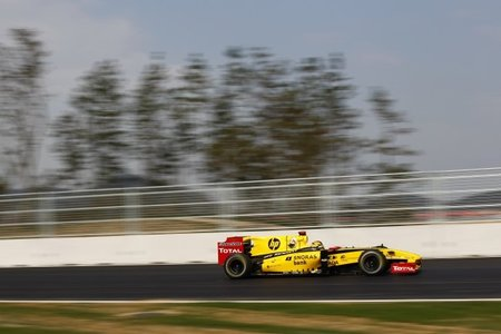 GP de Corea del Sur de Fórmula 1: Robert Kubica da la sorpresa en los últimos libres