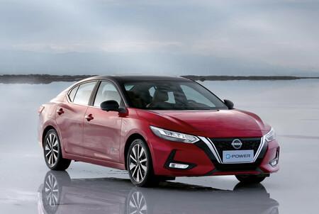 El Nissan Sentra e-Power es un sedán eléctrico que carga con gasolina y podría llegar a México en 2022