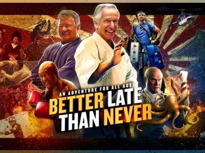 'Better Late Than Never' es lo mejor que os va a pasar este agosto