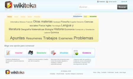 Wikiteka, nueva librería social para estudiantes