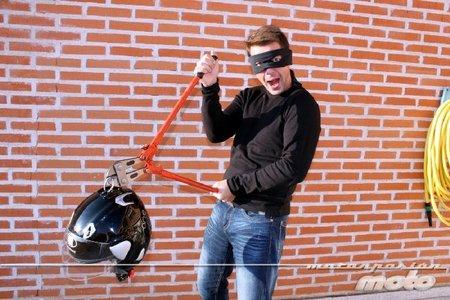 Continuamos con el intento de robo del casco, Camdalt One