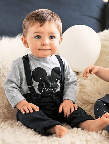 Conjunto De Camiseta Pantalon Mickey