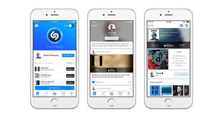 Shazam ahora escucha canciones de manera offline