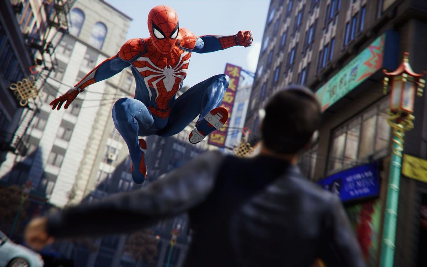 Fondo de pantalla de spiderman con movimiento