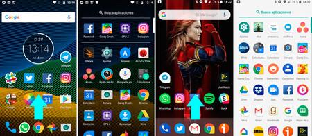 Android Puro vs capas de personalización
