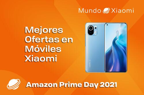 Mejores móviles Xiaomi en oferta hoy por el Prime Day 2021 de Amazon