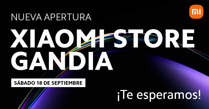 Xiaomi opens the first Mi Store in Gandía: going has a reward