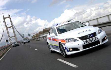 Un Lexus IS-F para la policía británica