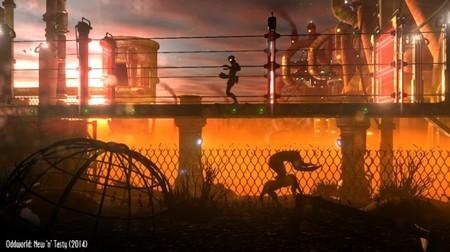 Aquí van dos comparativas molonas de Oddworld: Abe's Oddysee - New 'n' Tasty