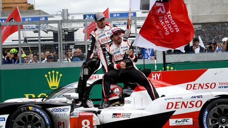 Alonso Toyota 24 Horas De Le Mans 2019