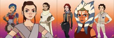 Lucasfilm lanza un proyecto para homenajear a todas las heroínas de la saga Star Wars