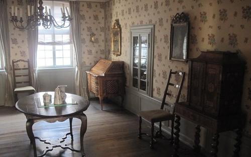 La casa natal de Johann von Goethe en Frankfurt