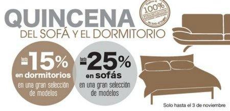 Amuebla tu dormitorio o cómprate un sofá en 'El Corte Inglés'