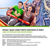 """Nvidia confirma, los telefonos """"quad-core"""" llegaran en este MWC 2012"""