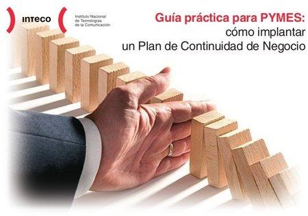 Guía de Inteco para establecer un Plan de continuidad del negocio