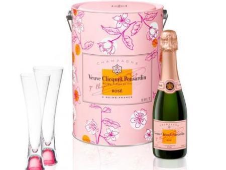 San Valentín: edición romántica de champagne Veuve Clicquot