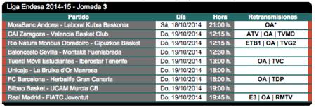 Partidos Baloncesto 1