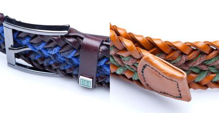cinturon trenzado combinado